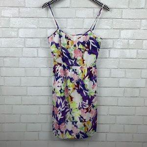 J. Crew Factory Floral Camisole Dress 4 T2813